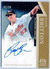 01 25 Zach Britton Orioles 2011 Topps Tier One Gold On the Rise AUTO RC Rookie