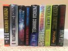Lot of 9 PATRICIA CORNWELL Hardcover Books includes SIGNED 1st edition BLOW FLY