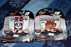 SET OF 2 Kasey Kahne Diecast Cars Winners Circle Dodge Jeremy Mayfield Mag HOODS