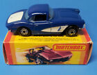Vintage Lesney 1962 Corvette 1:64 Diecast Car In Mint Condition