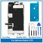 iPhone 8 Plus Full Screen Replacement LCD Plate Front Camera Ear Speaker