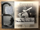 2003 Rookies & Greats Naturals Game Autograph Duke Snider Auto Jersey #8 30