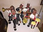 BLACK AMERICANA JAZZ BAND LARGE STATUES FIGURINES