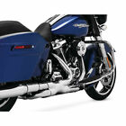 Vance  Hines Chrome Power Duals Exhaust Header System for 2017 Harley Touring