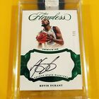2016-17 Flawless Kevin Durant Auto Premium Ink Emerald 2 5