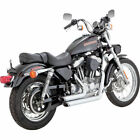 Vance  Hines Chrome Shortshots Staggered Exhaust for 1999 2003 Harley Sportster