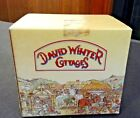 DAVID WINTER COTTAGES THE VILLAGE SHOP 1982 w/ box & COA