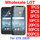 Tempered Glass PET Screen Protector Film For ZTE Maven 3 ZTE Z835 Wholesale Lot