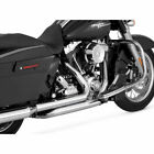 Vance Hines Chrome Dresser Duals Exhaust Header System 2009 2016 Harley Touring