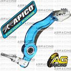 Apico Blue Rear Foot Brake Pedal Lever For Sherco Trial 125 2004 04 Trials New