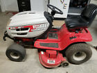 Huskee Supreme Riding Lawn Mower with Wagon  Stihl Weedeater