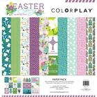 Echo Park Hello Easter Double Sided Paper Pad 6X6 24 Sheets 12 Designs