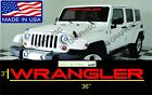 Jeep Decals Jeep Windshield Banner Decal Sticker Wrangler Rubicon Sahara W-03