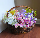 12 Bunch Artificial Small Flowers for Home Wedding Decoration