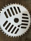 dyno pro compe old bmx white aluminum cheese grater sprocket gt performer bike