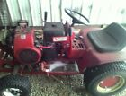 wheel horse c 100 tractor W plow chains10HP KOLHER