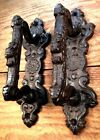 2 Door Barn Cast Iron Gate Pull Shed Handle Rustic Antique Style Handles 6-3/4