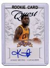 2012-13 PANINI CRUSADE KYRIE IRVING AUTO AUTOGRAPH ROOKIE QUEST #4 RC sp