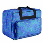 Meditool Universal Sewing Machine Carrying Case Tote Bag - Blue