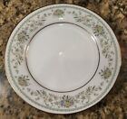 Noritake Green Hill 2897 Bread Butter Dessert Plate Floral Gold Trim