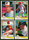 1982 DONRUSS BASEBALL COMPLETE SET MINT-NEAR MINT SINGLE OWNER