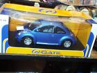 Gate 1998 Volkswagen New Beetle Coupe VW Model 1:18 Scale Diecast Blue Car