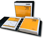 CASE 1840 UNI-LOADER SKID STEER SERVICE MANUAL PARTS CATALOG SHOP BOOK SET OVHL