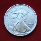 1991 Silver Dollar Coin 1 troy oz AMERICAN EAGLE Walking Liberty 999 Fine