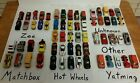 Mixed Lot of 63 Diecast Cars Hot Wheels Matchbox Zee Yatming and More
