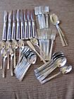 Lot of 48 Pieces Stainless Silverware Set WM Rogers Premiere 8 place settings +
