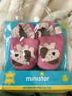 ministar baby girl 0 6 genuine leather pink shoes