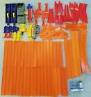 HUGE LOT 100+ HOT WHEELS TRACK CURVES STRAIGHT ACCESSORIES MOTORIZED BOOSTER