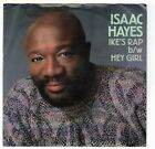 Isaac Hayes Ike's Rap 45 RPM 1986 Columbia