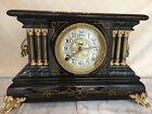 Beautifully Restored Antique Ingraham Mantel Clock ca 1918