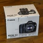 Canon EOS 5D 128MP Digital SLR Camera Black Body Only