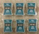 Lot of 6 Dew Drops WoodWick 8oz Scented Wax Melts Warmer Yankee Candle