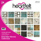 Heartfelt Creations Double Sided Paper Pad 12X12 24 Pkg Everyday Heroes 12 De