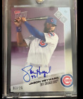 🔥🔥2017 TOPPS NOW JASON HEYWARD AUTOGRAPH 3 25 CHICAGO CUBS RTOD OD-308B