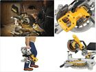 DEWALT 20V Max Cordless Miter Saw BareTool Compact Circular Adjustable Sliding