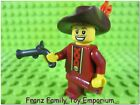 New LEGO Pirate MINIFIGURE Musketeer Hat Pistol Figure
