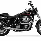 Two Brothers w Carbon 2 Into 1 Comp S Exhaust 1990 1994 Harley FXR Stainless
