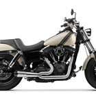 Two Brothers w Carbon 2 Into 1 Comp S Exhaust 2006 2017 Harley Dyna Stainless