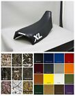 HONDA XL350R Seat Cover 1984 1985 in BLACK or 25 COLORS      (SOLID XL side/ st)