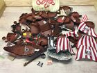 Lot of Lego Pirate Ship Hulls, Masts, Rigging, Boat, Vintage 6 Pounds