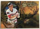 1997 Donruss Signature Carlton Fisk Auto Chicago White Sox Autograph