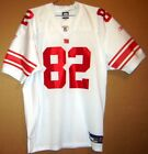 NEW YORK GIANTS White #82 SMITH ROAD AUTHENTIC NFL Size 52 JERSEY