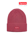 ORDER CONFIRMED! SUPREME Magenta Overdyed ribbed beanie - SS18 Week1