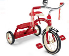 New Radio Flyer kids Classic red Dual Deck Tricycle bike outdoor play