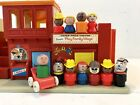 Vintage Fisher Price Little People 997 Play Family Village 1973 + People Extras