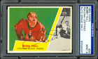 1963-64 Topps #33 Bobby Hull Autographed Signed PSA DNA 9 with NM-MT card
